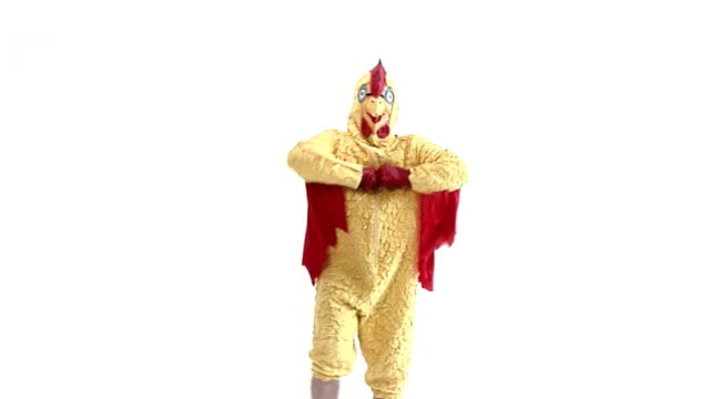 happy  chicken - mascot stock videos & royalty-free footage