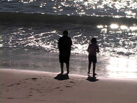 happy children playing in sparkling waves - tap dancing stock videos & royalty-free footage