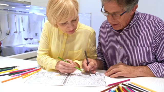 Happy couple colouring books