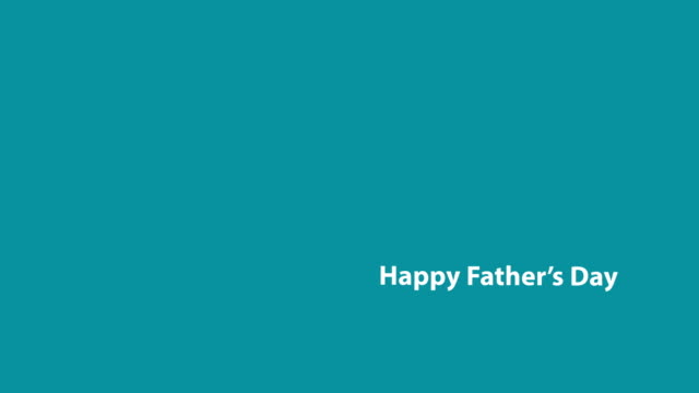 4k happy father's day text animation - father's day stock videos & royalty-free footage
