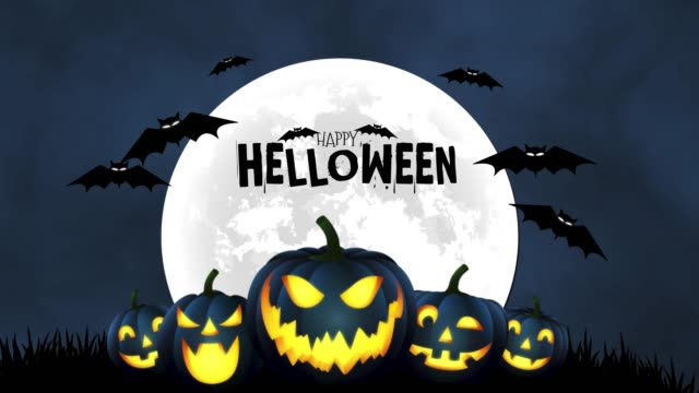 4k happy halloween text and background - princess stock videos & royalty-free footage