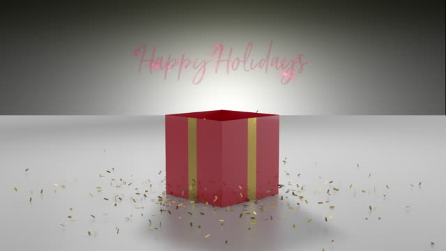 happy holidays - happy holidays stock videos & royalty-free footage
