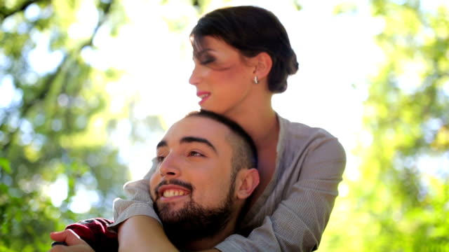 happy in love - hot passionate kissing stock videos & royalty-free footage