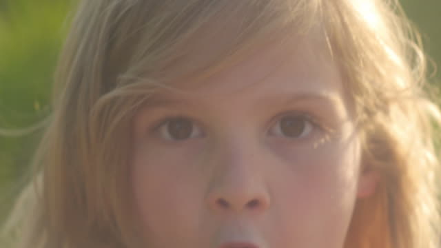 happy kids - one girl only stock videos & royalty-free footage