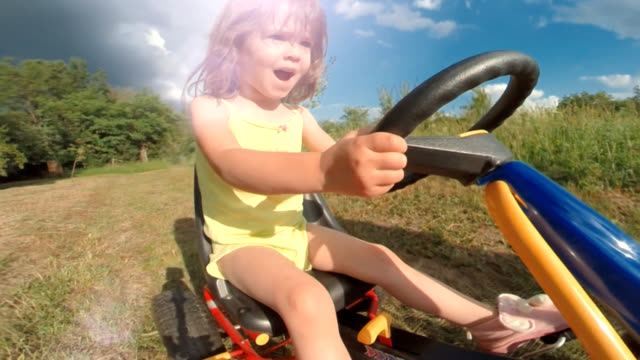 happy memories of her young days - toddler stock videos & royalty-free footage