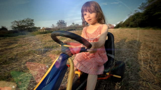 happy memories of her young days - saturated colour stock videos & royalty-free footage