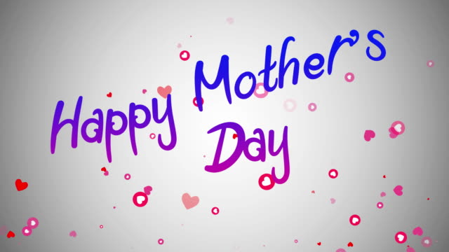 stockvideo's en b-roll-footage met happy mothers day - 10 seconds or greater