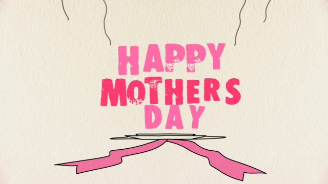 happy mothers day - mother's day stock videos & royalty-free footage