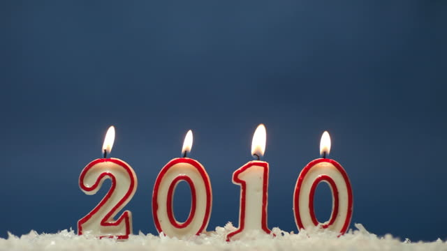 happy new year 1010 - 2010 stock videos & royalty-free footage