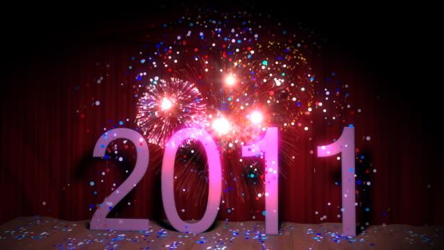 Happy new year 2011 Seamless loop