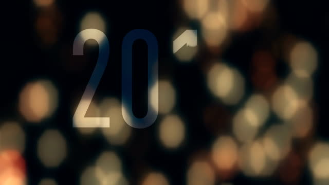 happy new year 2019 text animation with lights and sparkle bokeh - 2019 stock videos & royalty-free footage