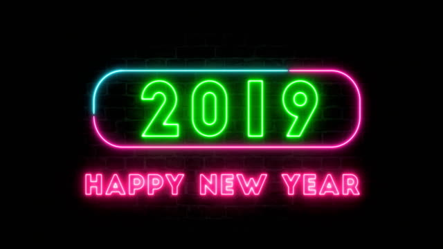 happy new year 2019 - 2019 stock videos and b-roll footage