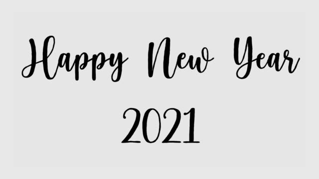 happy new year 2021 gray - retro poster stock videos & royalty-free footage
