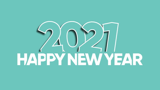happy new year 2021 - capital letter stock videos & royalty-free footage