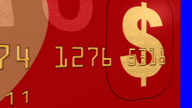 happy new year - credit card - currency symbol stock videos & royalty-free footage