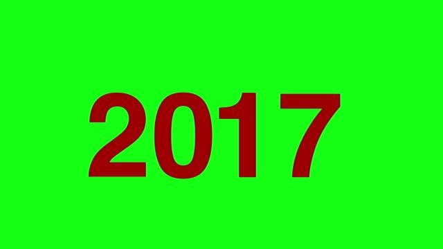 vídeos y material grabado en eventos de stock de feliz año nuevo tarjeta de saludo texto revelar de fuegos artificiales dorados & crackers en glitter shiny magic particles sparks noche para celebración, deseos, eventos, mensaje, vacaciones, festival - sparks
