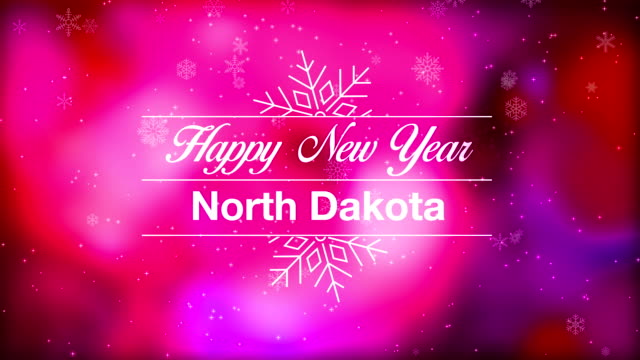 happy new year north dakota - bismarck north dakota stock videos & royalty-free footage