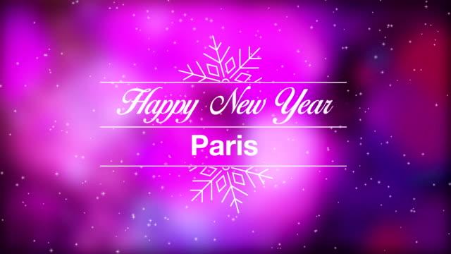 Happy New Year Paris