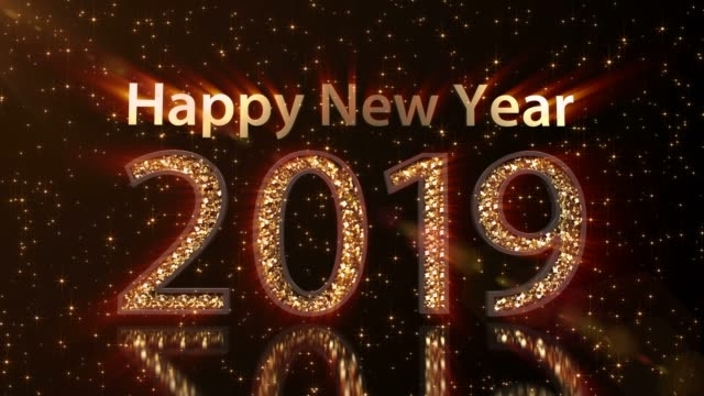2019 happy new year - 2019 stock videos and b-roll footage