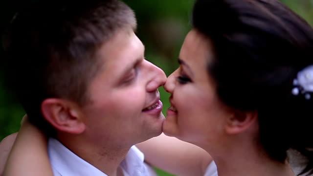 Gelukkig jonggehuwden