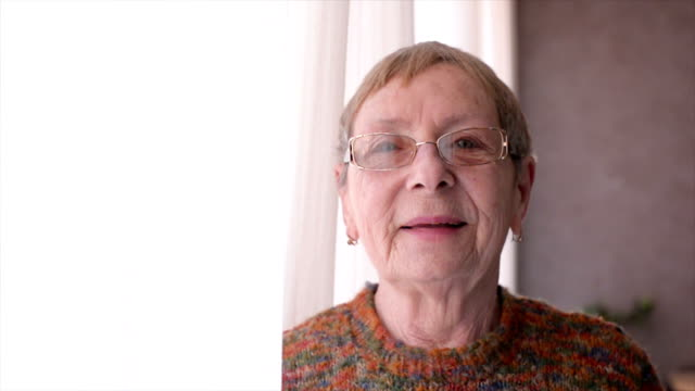 happy senior women - eyeglasses stock videos & royalty-free footage