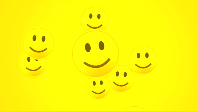 happy smiley - emoticon stock videos and b-roll footage
