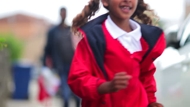 happy student - first day of school stock videos & royalty-free footage