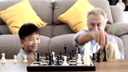 Happy time playing some chess.