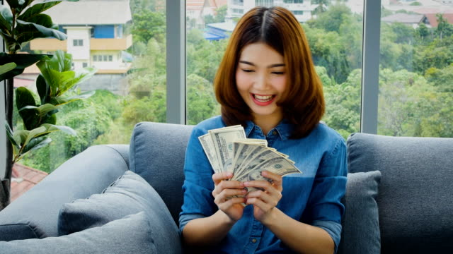Image result for asian girl money