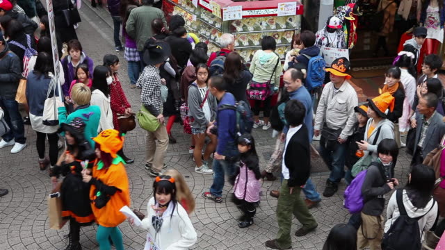 Harajuku crowds