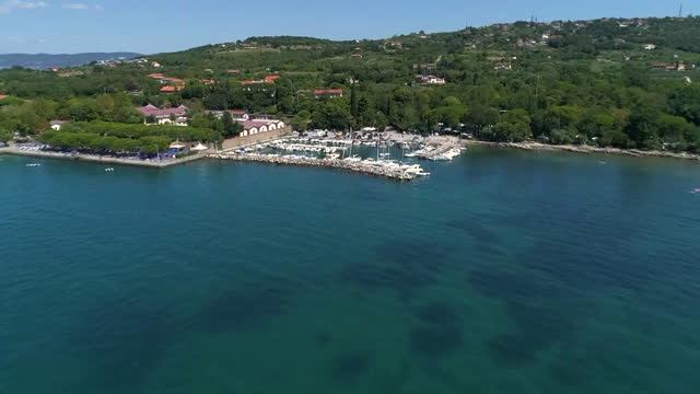 harbor at adriatic sea / italy - anchored stock videos & royalty-free footage