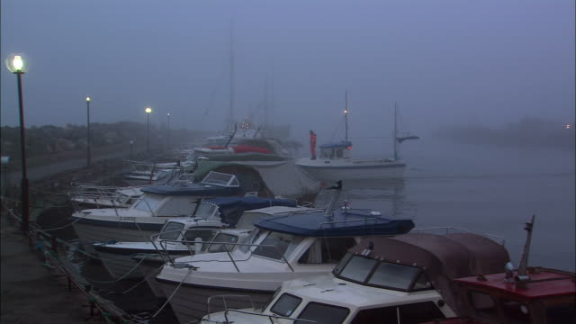 WS PAN Harbor in fog / Drobak, Akershus, Norway