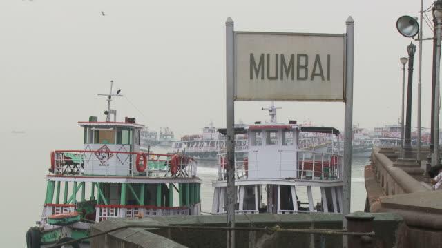 WS Harbor sign reading Mumbai / Mumbai, India