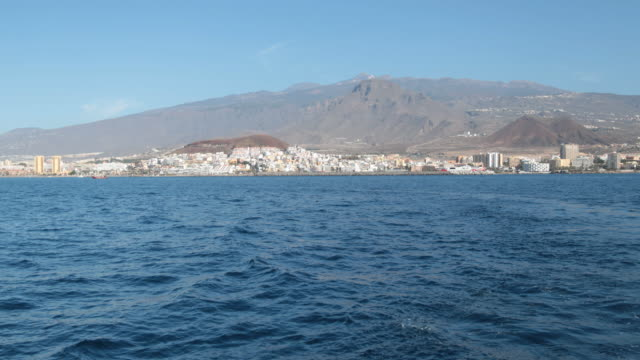 Harbour of Los Christianos; Tenerife.