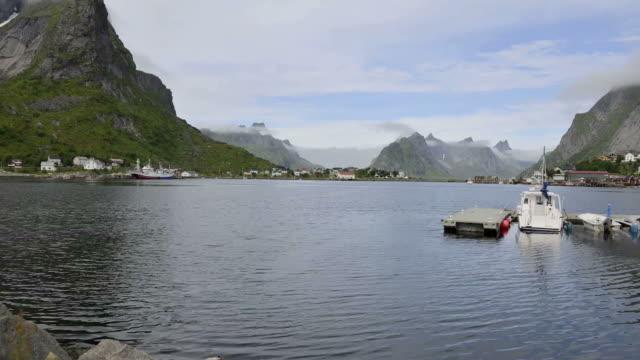 HD TIME-LAPSE: Harbour on Lofoten