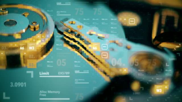 ハード ディスク ドライブの故障 - 金銭に関係ある物点の映像素材/bロール