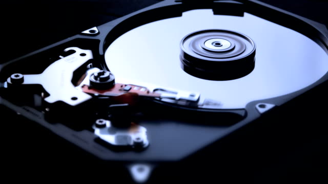 hard disk drive hardware - storage compartment stock videos & royalty-free footage