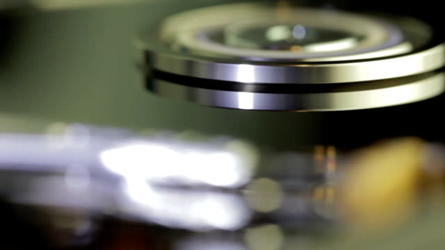 hard disk drive inside closeup 14 - byte stock videos & royalty-free footage