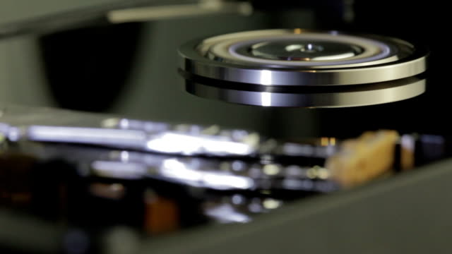 hard disk drive inside closeup 18 - byte stock videos & royalty-free footage