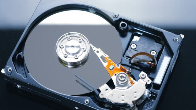 hard disk drive reading head stock video - magnet stock videos & royalty-free footage