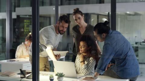 hard work + teamwork = success - business stock videos & royalty-free footage