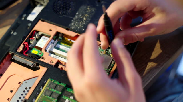 hardware project for school - one teenage boy only stock videos & royalty-free footage
