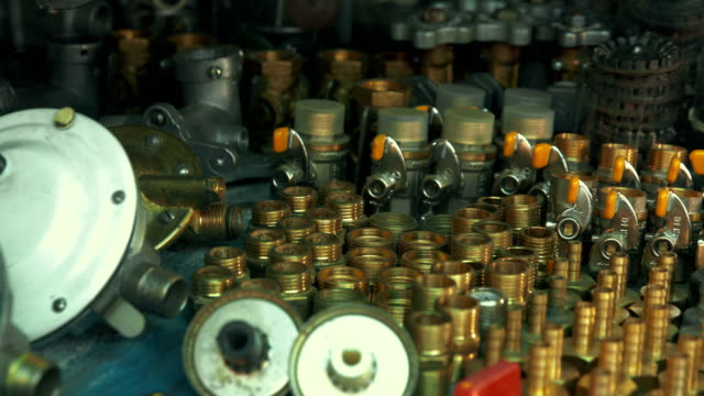 hardware store. gas valves & controls - machine valve stock videos & royalty-free footage