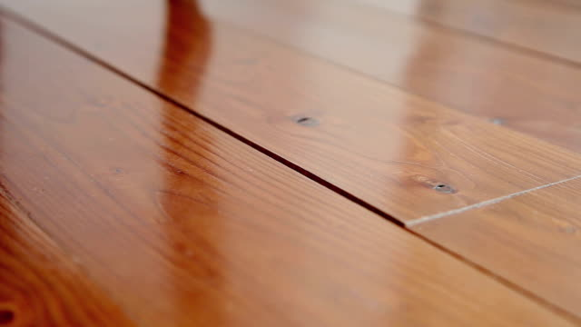 dolly: hardwood floor - material stock videos and b-roll footage