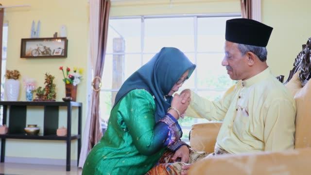 hari raya puasa in malaysia - malaysian culture stock videos and b-roll footage