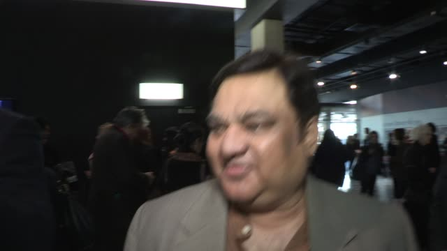 harish patel on working in uk father figure in the film at gala premiere of all in good time at bfi southbank on may 8 2012 in london england - bfi southbank stock videos & royalty-free footage