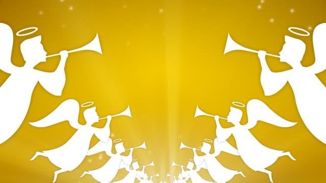 hark the herald angels sing - ängel bildbanksvideor och videomaterial från bakom kulisserna