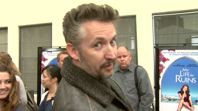 harland williams on touring greece as 'work', how he had never been to greece before, doing improv with rachel dratch, and on what 'backting' was. at... - sketch comedy stock videos & royalty-free footage