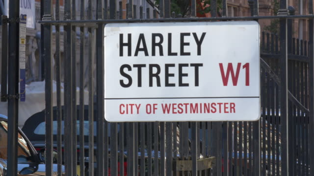 harley street establisher. - direction stock videos & royalty-free footage