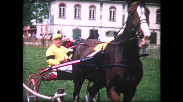1964 harness racing in Morges, Switzerland